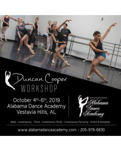 Duncan Cooper Workshop @ Alabama Dance Academy Oct 4th-5th